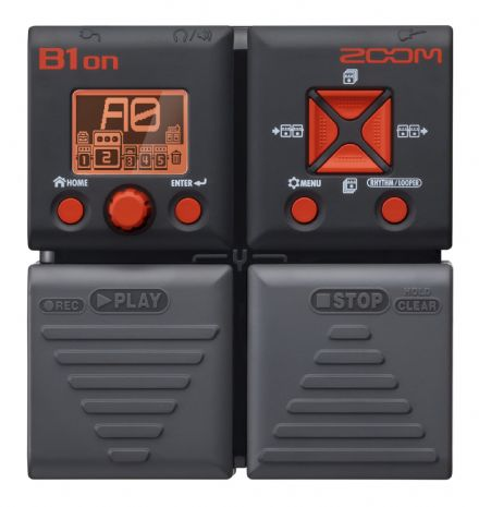 Zoom B1ON Bass Multi-FX